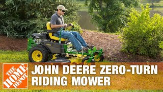 John Deere 54 in. 23 HP V-Twin Hydrostatic Zero-Turn Riding Mower - The Home Depot