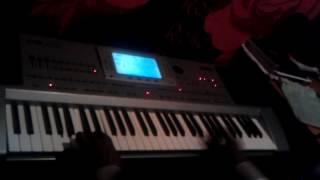 KORG PA 80:  Improvisation in the DORIAN MODE