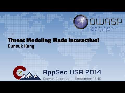Threat Modeling Made Interactive - OWASP AppSecUSA 2014