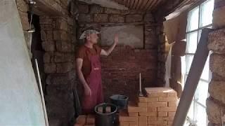 стройка продолжается / поднимаю стены в санузле