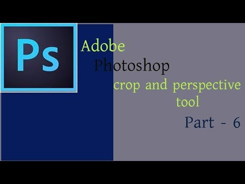 Photoshop Tutorial |  How To Use crop tool and perspective tool  in Photoshop ( new ): part--6 thumbnail