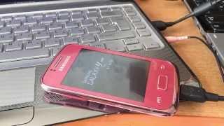 Прошивка Samsung Galaxy Y Duos, GT-S6102(Инструкция по прошивке мобильного телефона Samsung Galaxy Y Duos GT-S6102 многофайловой и однофайловой прошивкой с..., 2015-05-18T07:36:04.000Z)