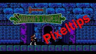 Pixeltips | castlevania II simon´s quest guía de objetos | parte 2