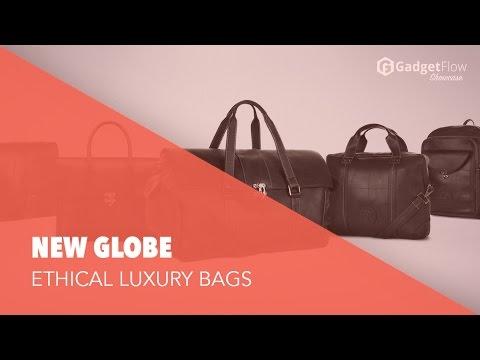 New Globe Ethical Luxury Bags - #GadgetFlow Showcase