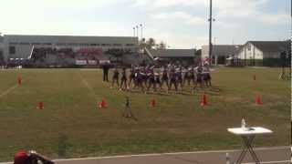 2012 Pinellas Park Varsity Mighty Mites SYFC Cheer Competition