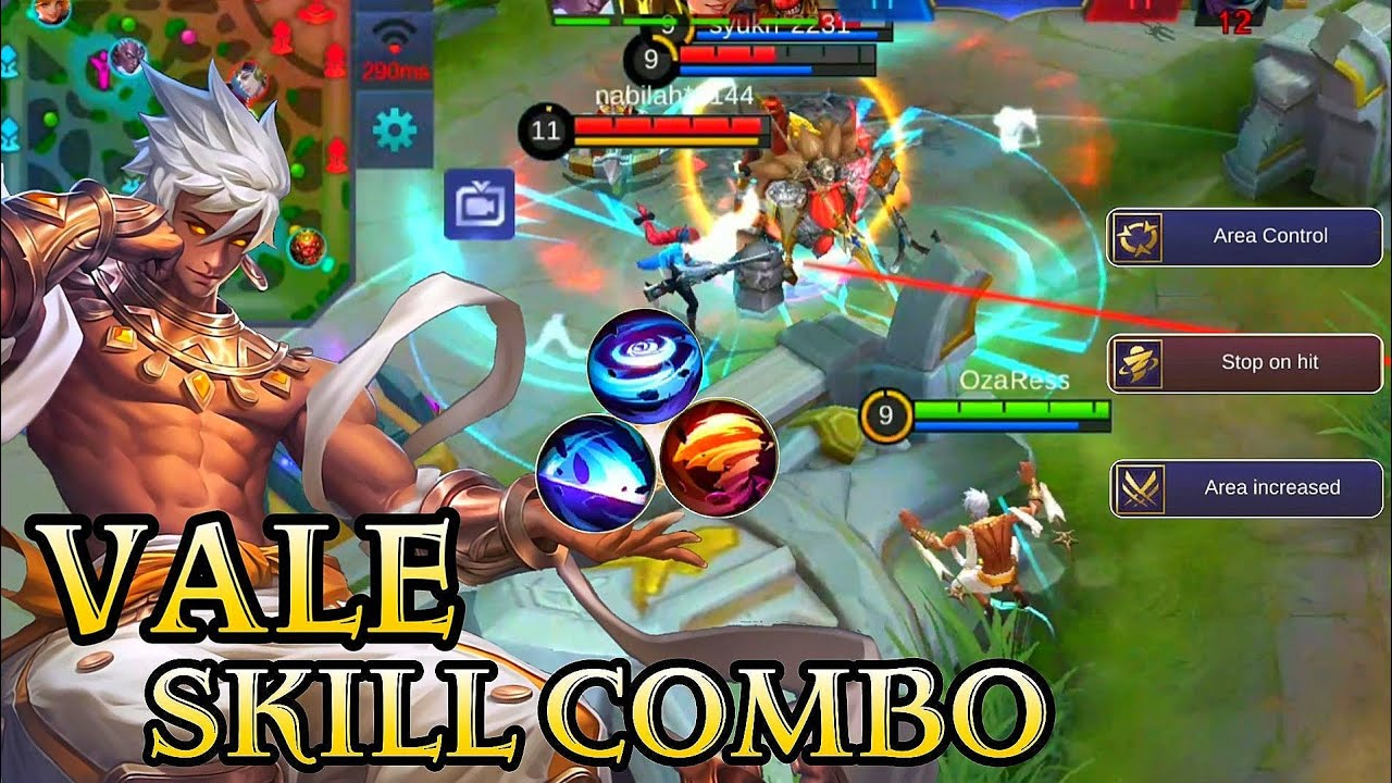 New Hero Vale Combo and Build - Mobile Legends Bang Bang