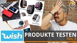Wish Produkte: Handy, Smartwatch & weitere Gadgets im Test