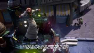 Epic Mickey 2: The Power of Two Walkthrough - Intro - Part 1 HD