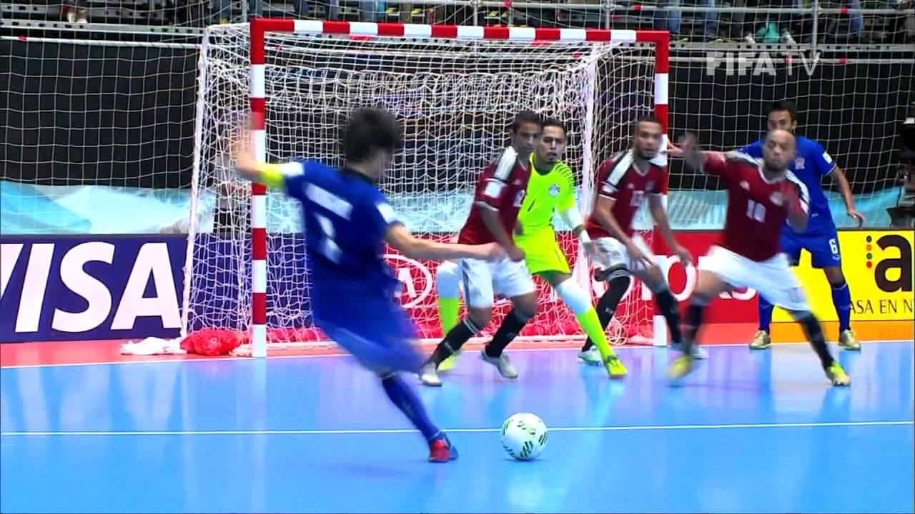 Video: Futsal Ai Cập vs Futsal Thái Lan