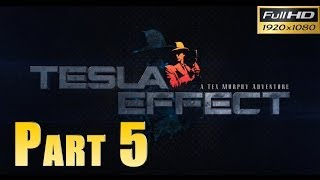 Tesla Effect: A Tex Murphy Adventure - Walkthrough Part 5 Baseball Cards Puzzle Gameplay 1080p