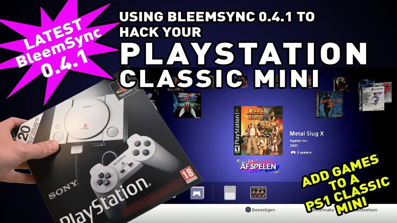 for download bleemsync games