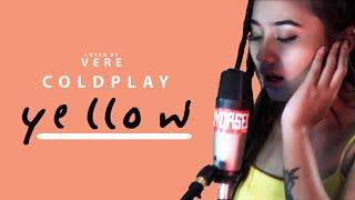 COLDPLAY YELLOW Vilmasheila Vereira Acoustic Cover