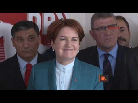 DP Genel Başkanı'ndan Meral Akşener'i güldüren dilek!