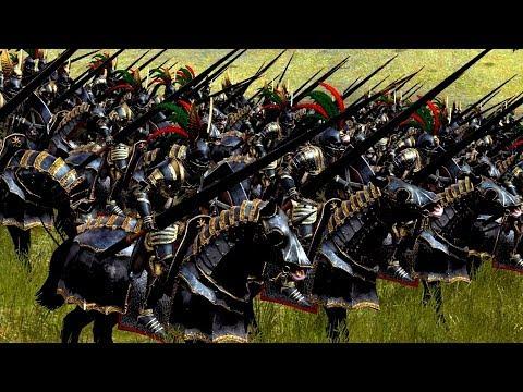 CABALLEROS de MORR en ACCIÓN !!! Total War: WARHAMMER 2 |