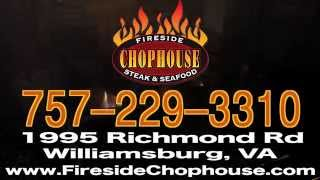 Wb Fireside Chophouse In Williamsburg, Virginia - Best Prime Rib In Town!
