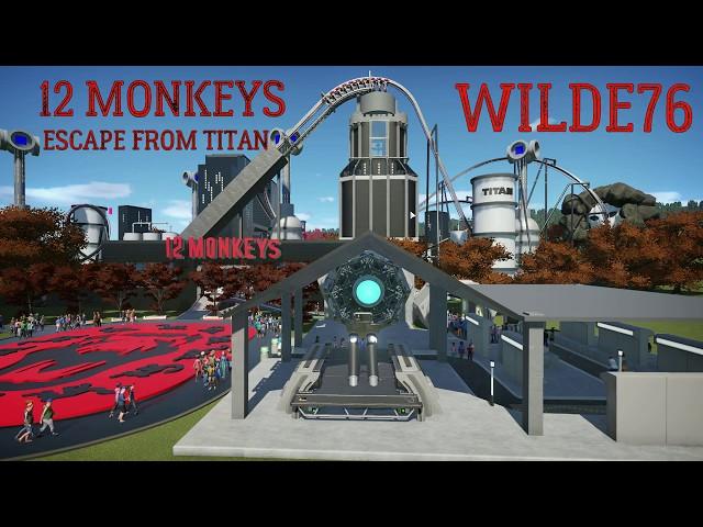 12 MONKEYS - Escape From Titan