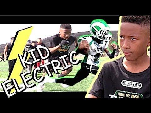 WOW KID IS ELECTRIC ! 11 YEAR OLD Kenneth Moore III  Joaquin Jr Rams