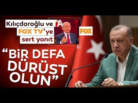 Başkan Erdoğan, ''FOX TV'yi Yalan Medya Olmaktan Çıkarın!''