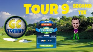 Golf Clash tips, Hole 6 - Par 4, Nordic Fjords - Club Oceania, Tour 10 - GUIDE/TUTORIAL