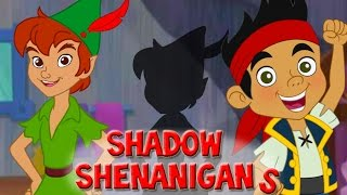 Jake And The Neverland Pirates Game Episodes Shadow Shenanigans Peter Pan