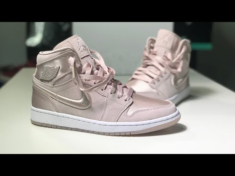 Nike Womens Air Jordan 1 Retro High 'Red Silt' Season of Her Unboxing