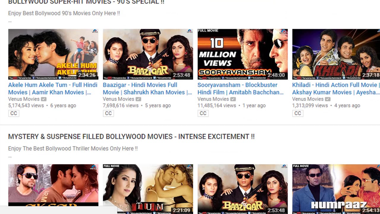 best place to download bollywood movies for free