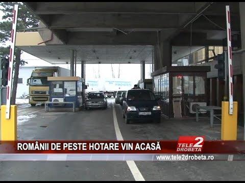 ROMaNII DE PESTE HOTARE VIN ACASa