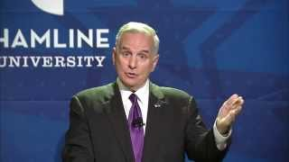 Minnesota governor debate at Hamline University