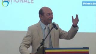 Traian Basescu, ales presedinte de onoare al PUN de la Chisinau