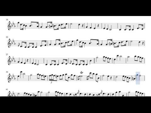 Funeral March Sheet Music for Flute and Recorder Chopin