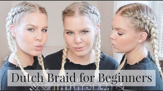 How To Dutch Braid Your Own Hair Step By Step – Hair For Beginners | EverydayHairInspiration