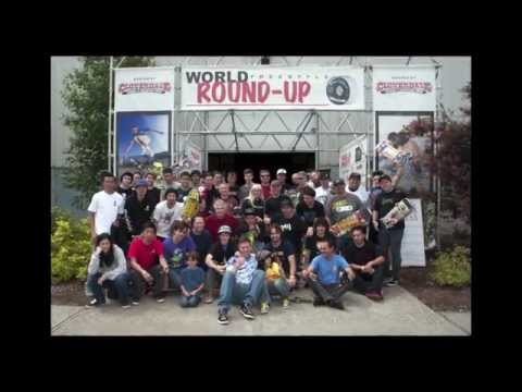 World Round Up 2015 Freestyle Skateboard Championship