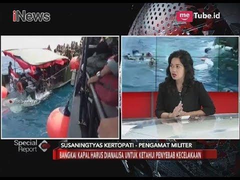 Bangkai Kapal Tenggelam Harus di Analisa untuk Ketahui Penyebab Kecelakaan - Special Report 13/03