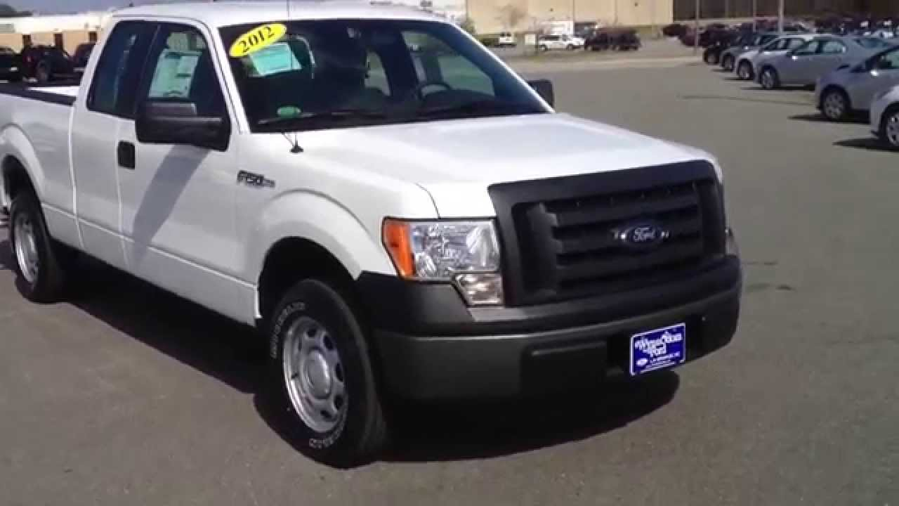 2012 ford f 150 supercab xl oxford white youtube. Black Bedroom Furniture Sets. Home Design Ideas