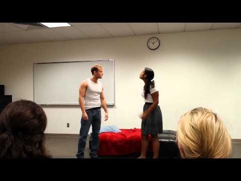 Fool for Love - opening scene with Adi Martinez and Johnmichael McDonald