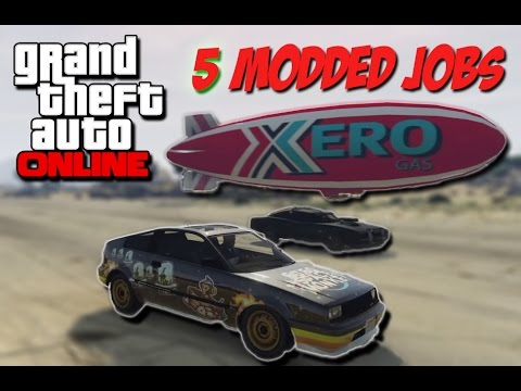 GTA 5 Online - 5 Modded Jobs! (Cargo...