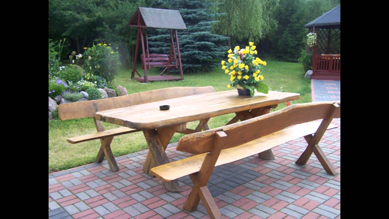 Garden furniture diy - YouTube
