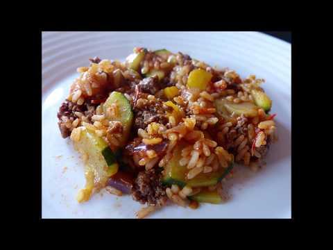 recette-riz-à-la-viande-haché-et-aux-légumes
