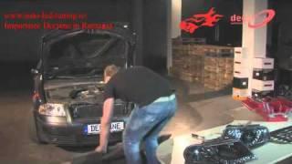 VW Passat faruri montaj