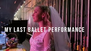 backstage at my ballet performance (Camelot)