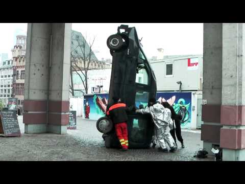 aufbau BURNING BEASTS  _claudia bosse, frankfurter kunstverein 2012