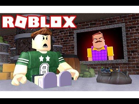 الجار النفسية   اخيرا نزلت كاملة فى لعبة roblox !!