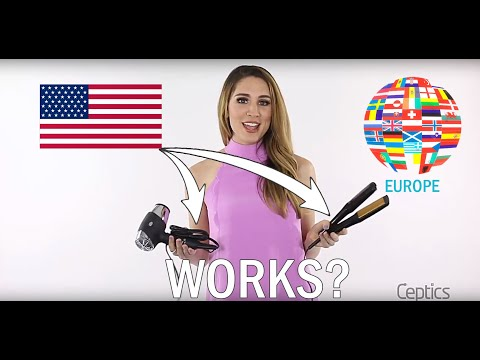 Traveling With American Hair Dryer Or Flat Iron To Europe Or Other Countries Around The World?