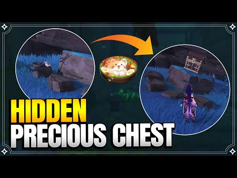Hidden Chest you DEFINITELY MISSED at Seirei Island | World Quests and Puzzles |【Genshin Impact】