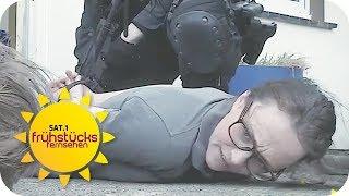 SEK versagt: Falsches Haus gestürmt & unschuldigen Hund erschossen! | SAT.1 Frühstücksfernsehen | TV