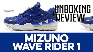 UNBOXING+REVIEW - Mizuno Wave Rider 1
