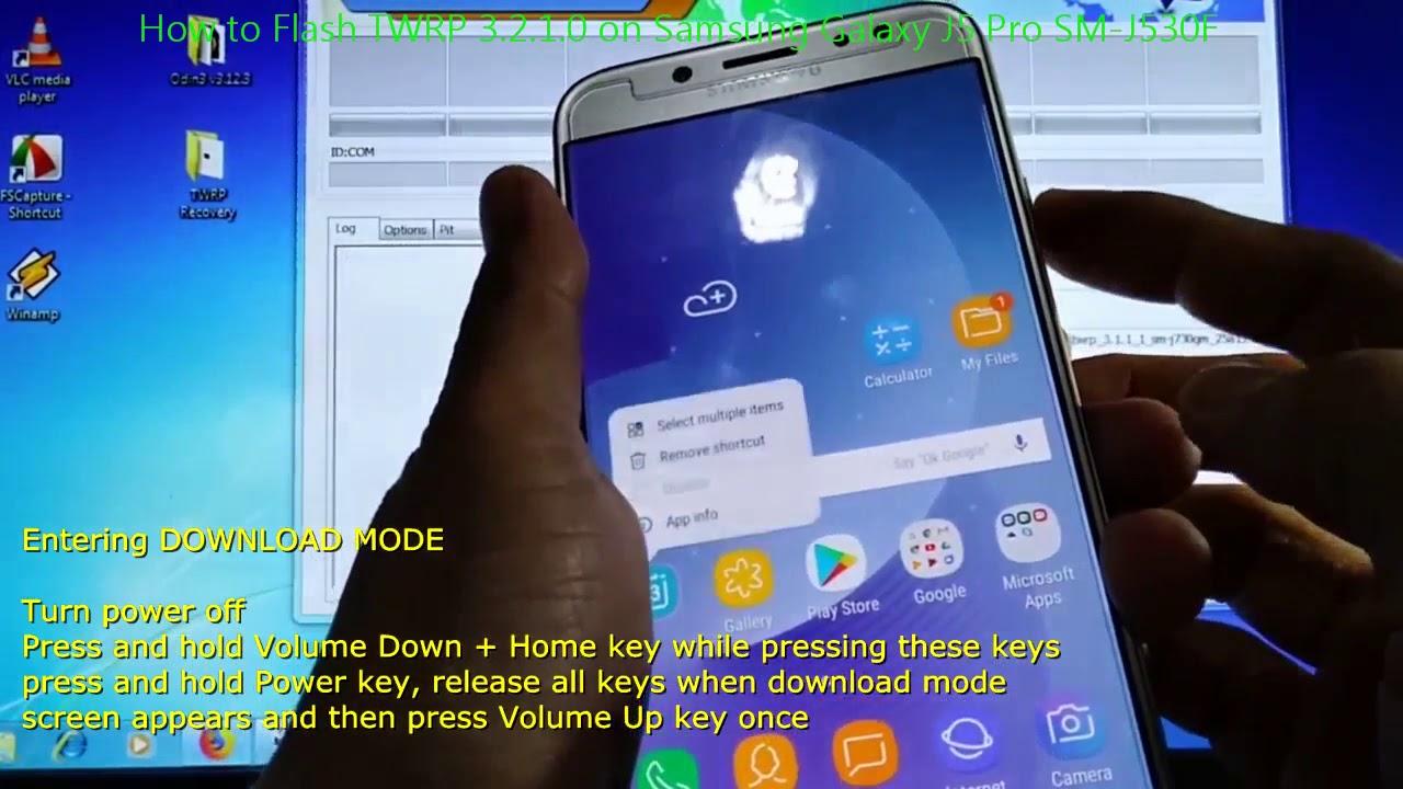 How to Flash TWRP 3 2 1 0 on Samsung Galaxy J5 Pro SM-J530F