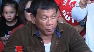 Duterte calls Roxas, Binay 'evil men'