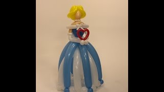 How To Make A Giant Princess From Balloons