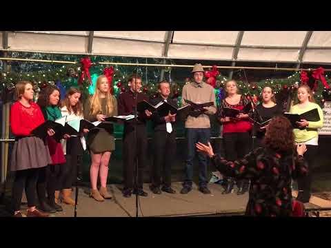 Viroqua High School Madrigal Choir, Rotary Lights, Nov. 29, 2017 - Carol of the Bells